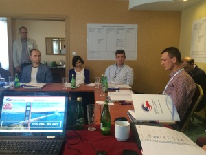 Workshop sessions in Warsaw, September 2014