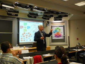 John Warren, Leading and Executive Strategy Lecture at Stanford University