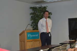 Steven Murray, Ph.D., P.E., Exponent's Group Vice President & Principal Engineer