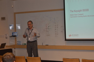 Mr. Larry Zurbick, a Marketing Manager for the Division's Nano Positioning Metrology Products at Keysight Technologies