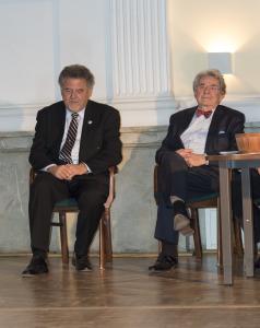 Mr. Jerzy Orkiszewski and prof. Grzegorz Pawlicki