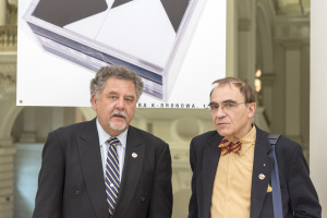 Mr. Jerzy Orkiszewski and prof. Piotr D. Moncarz