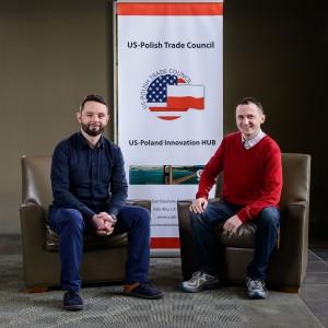 RTB Tracker Inc.: (left) Paweł Mizgalski and Sławek Kluczewski