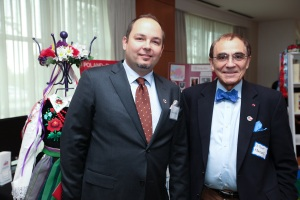 Mr. Lukas Grabiec and Dr.Piotr Moncarz