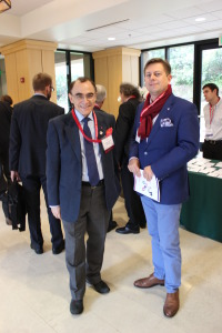 from left: Prof. Piotr Moncarz, Chairman of US-Polish Trade Council; Daniel Maksym, NCBiR