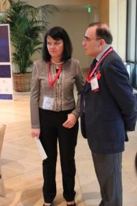 from left: Katarzyna Kacperczyk, Under - Secretary of State, Ministry of Foreign Affairs of Poland; Prof. Piotr Moncarz, Chairman of US-Polish Trade Council