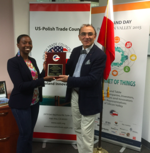 Ms. Sonja Sulcer and prof. Piotr Moncarz