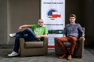 Automater's co-founders: (left) Maciej Zieliński and Jacob Kiczko