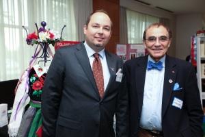 Mr. Lukas Grabiec and Dr.Piotr Moncarz