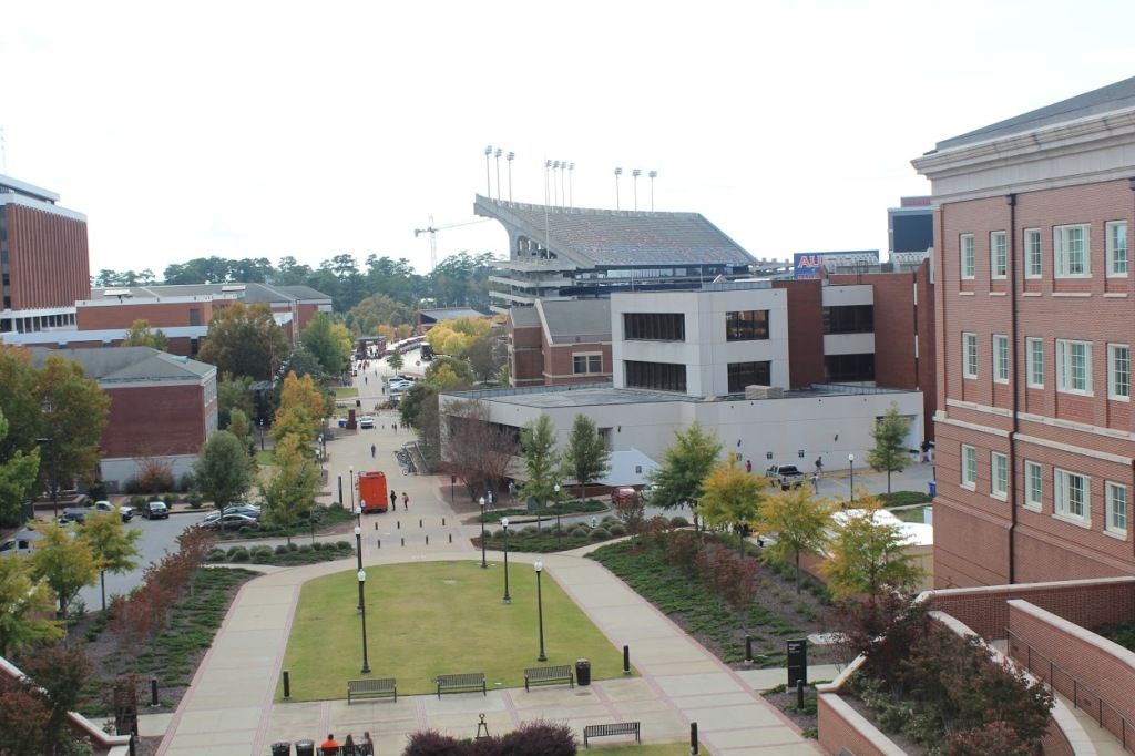 Auburn University view